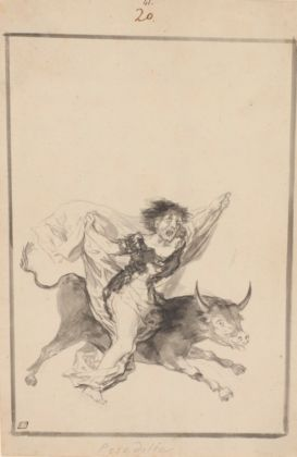 Francisco de Goya, Pesadilla, Black Border Album, 1816-20 ca. – New York, The Morgan Library & Museum