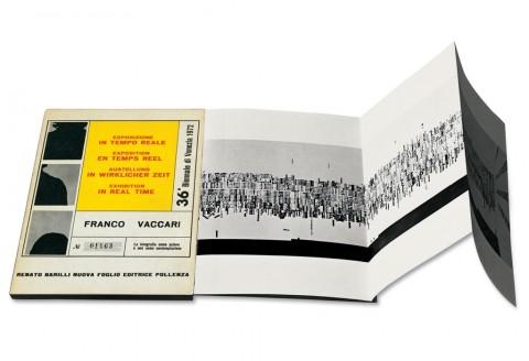 Franco Vaccari, Biennale di Venezia 1972, Edizione La Nuova Foglio ,1973