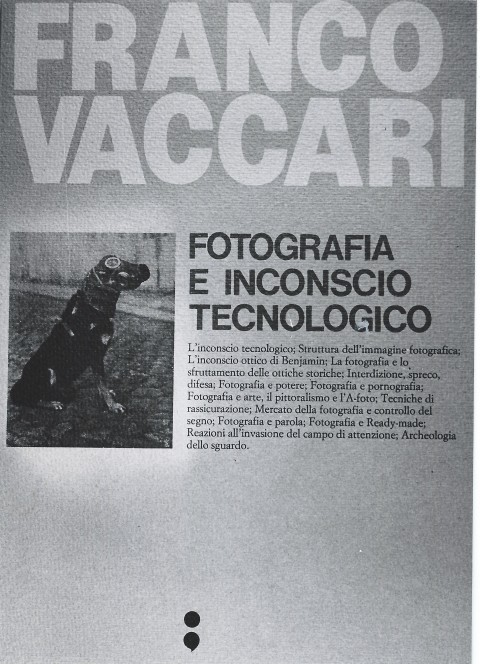 Franco Vaccari, Fotografia e inconscio tecnologico, Edizione Punto e virgola, 1979