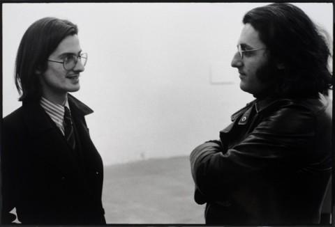 Giulio Paolini e Germano Celant - Galleria Toselli, Milano 1973