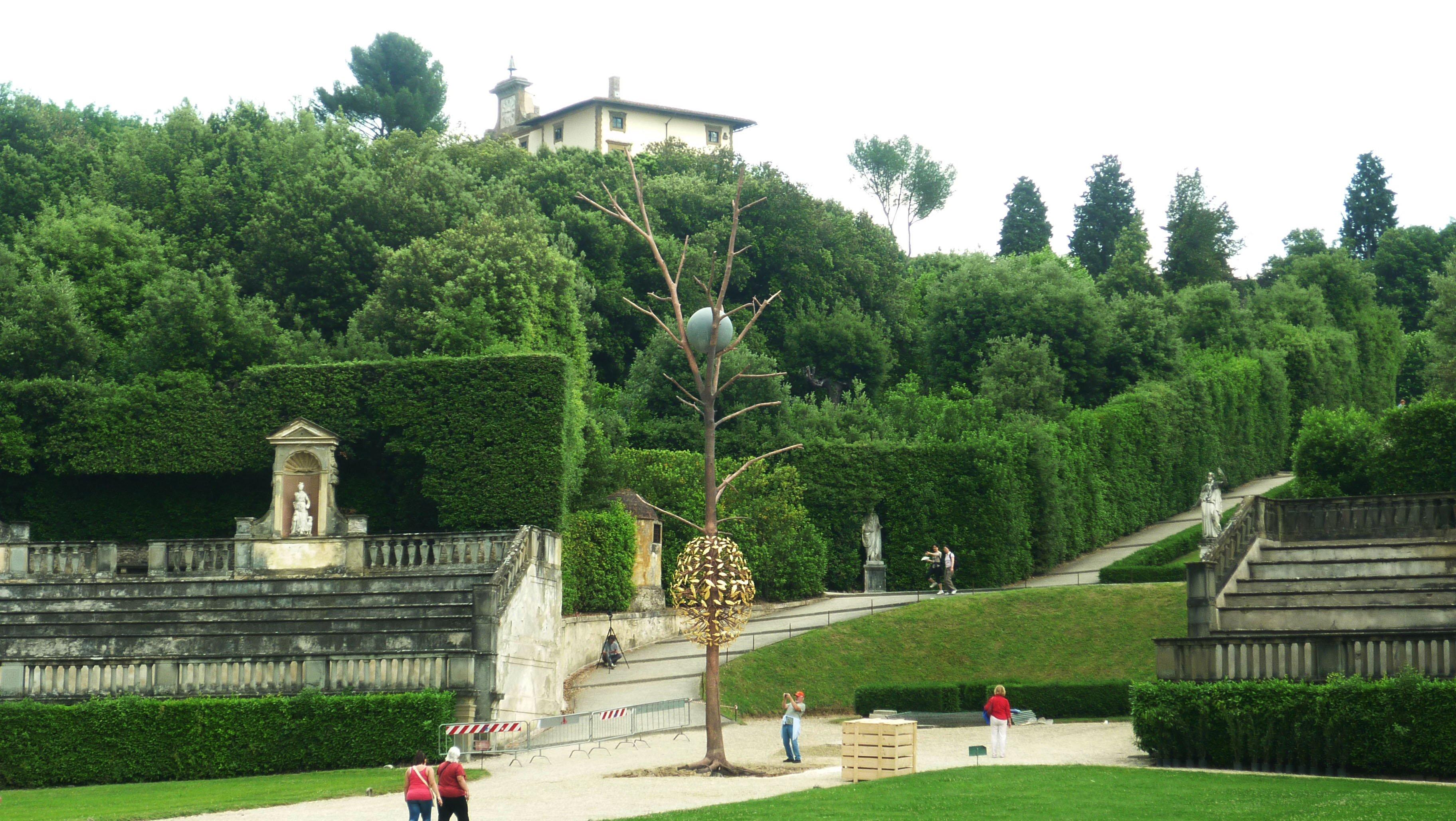 Gucci restaura il giardino di boboli artribune