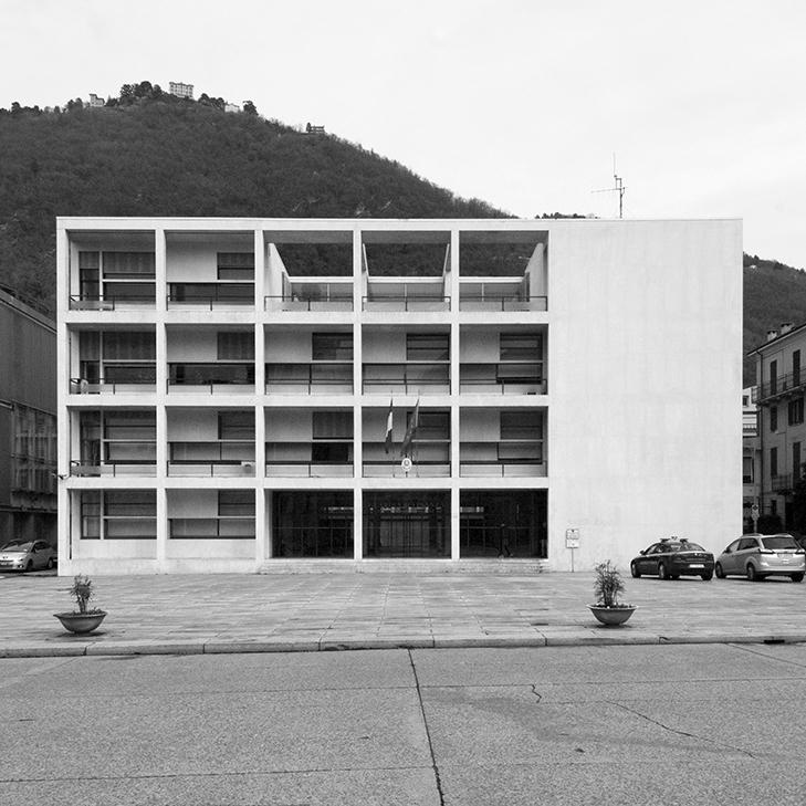 Giuseppe Terragni, Casa del Fascio, Como (1932-1936) © Gregorio Pecorelli