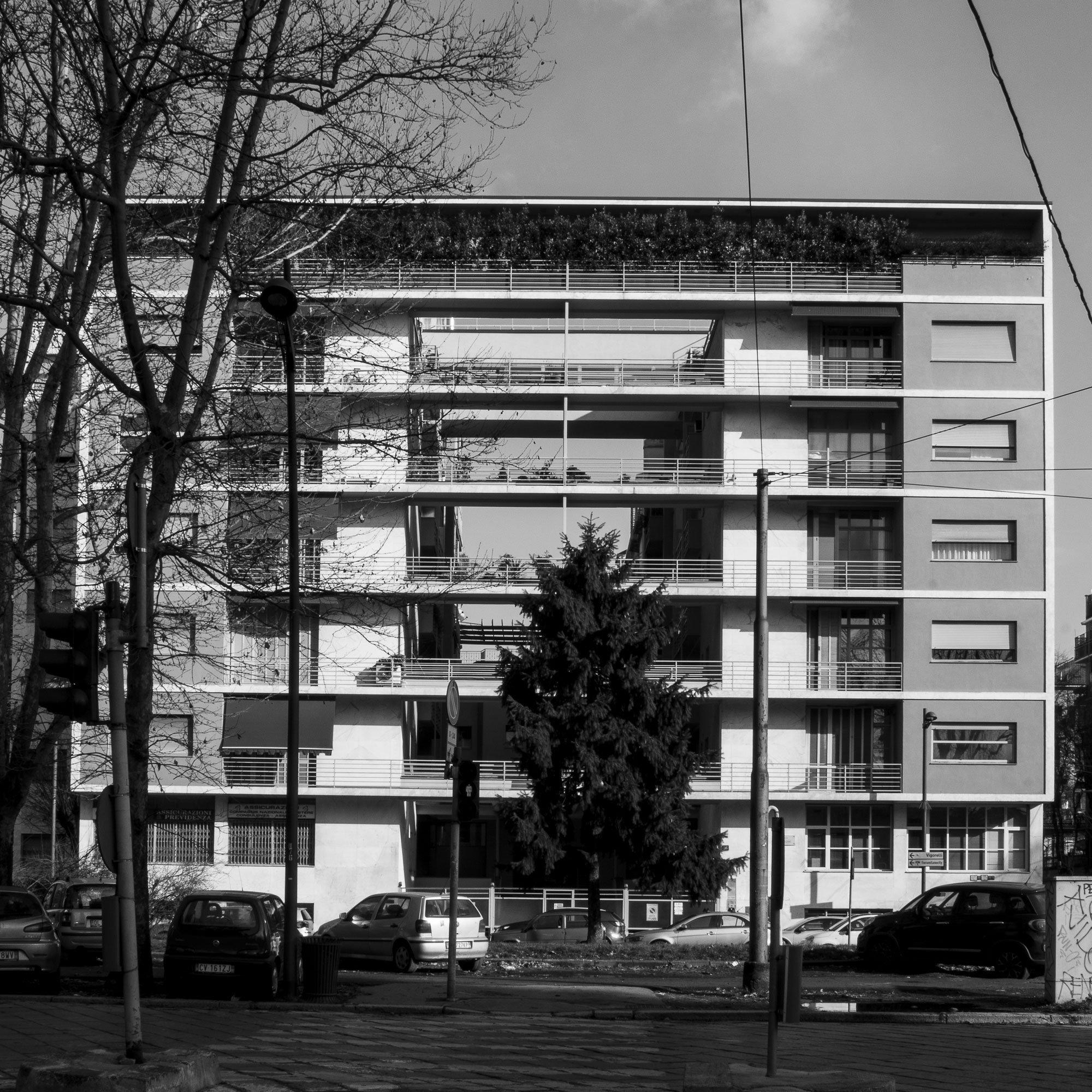 Giuseppe Terragni, Pietro Lingeri, Casa Rustici, Milano (1933-1936) © Maurizio Petronio
