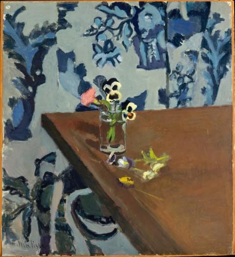 Henri Matisse, Angolo di tavola (violette), 1903 ca. - The Metropolitan Museum of Art