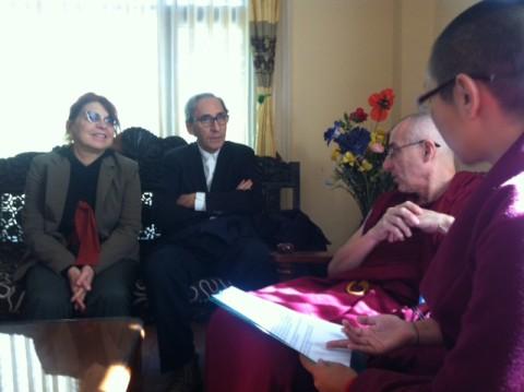In Nepal a colloquio con i monaci