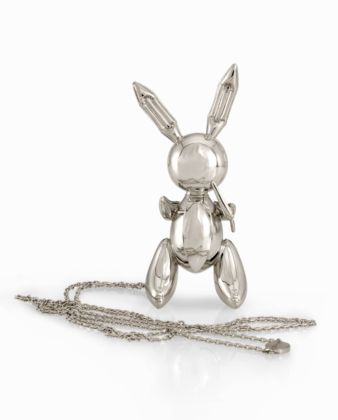 Jeff Koons, Rabbit necklace - photo Sherry Griffin