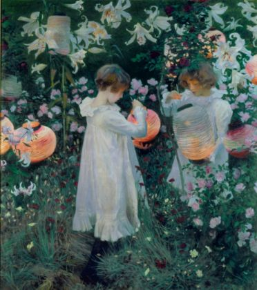 John Singer Sargent, Carnation, Lily, Lily, Rose, 1885-86 - © Tate, London, 2015