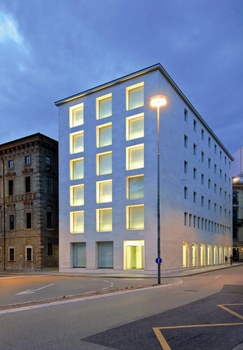 La sede di Lugano della BSI