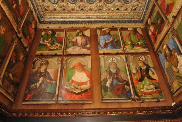 Lo studiolo del Duca - Urbino 2015 - photo Regione Marche
