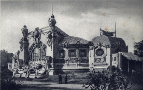 Milano 1906 - padiglione orafi
