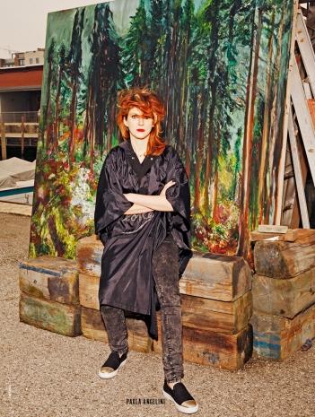 Marie Claire Loves Art - Paola Angelini - foto Dancian