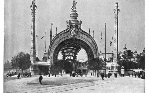 Parigi 1900 - porta monumentale