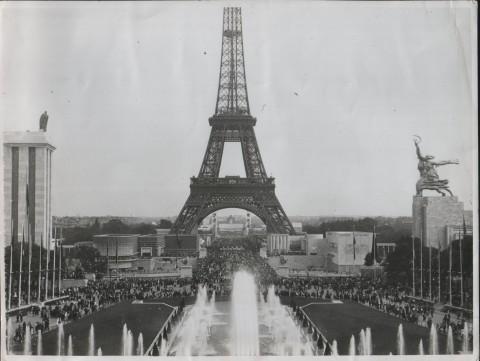 Parigi 1937 - Padiglione sovietico e padiglione tedesco