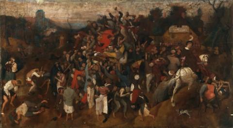 Pieter Bruegel il Vecchio, Festa di san Martino, 1565-1568 circa - Museo del Prado, Madrid