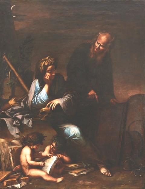 Salvator Rosa, Allegoria della Filosofia morale, 1648-1649 ca. - Collezione privata