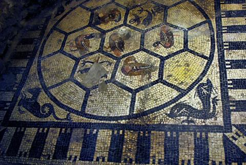 Scavi Scaligeri - mosaico