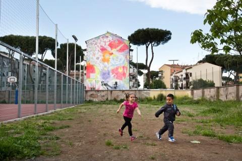 Street art a San Basilio
