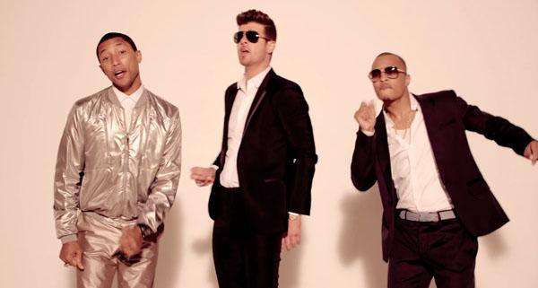 Thicke, Pharrell e T.I.