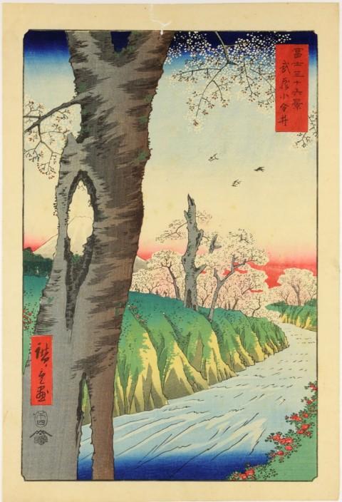 Utagawa Hiroshige, Koganei, nella provincia di Musashi, 1858 - Venezia, Museo d'Arte Orientale