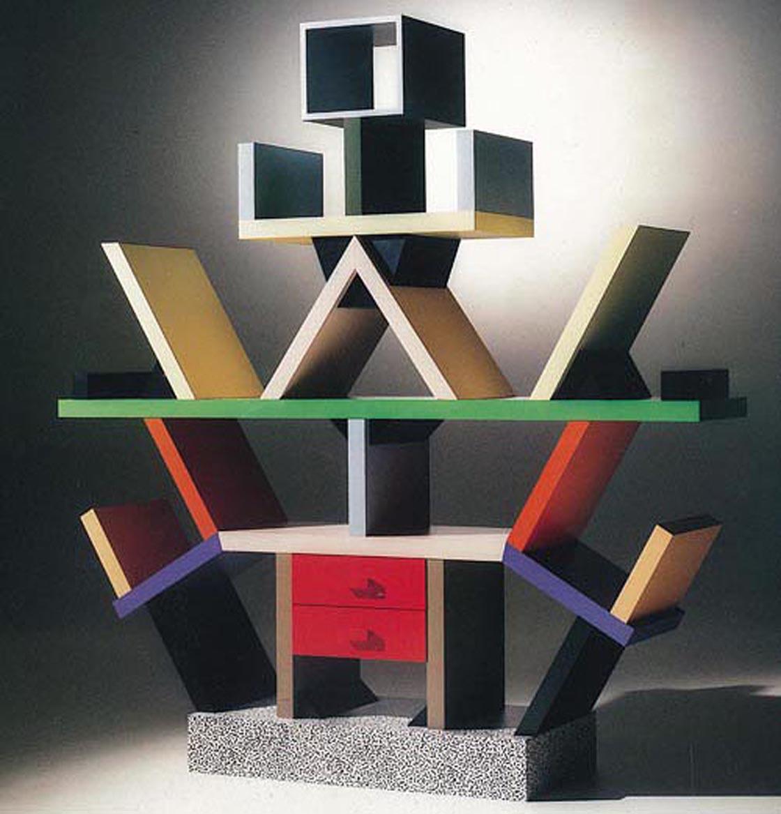 Ettore Sottsass, Libreria Carlton (1981)