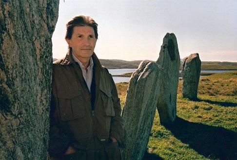 Alberto Ghinzani in Scozia nel 2003