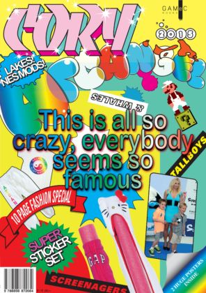 Cory Arcangel, This is all so crazy, everybody seems so famous, 2015, copertina catalogo