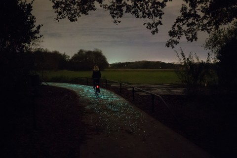 Daan Roosegaarde, Van Gogh Bicycle Path, Nuenen