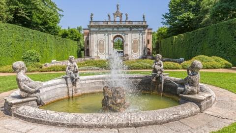 Giardino di Valsanzibio - Fontana della Pila