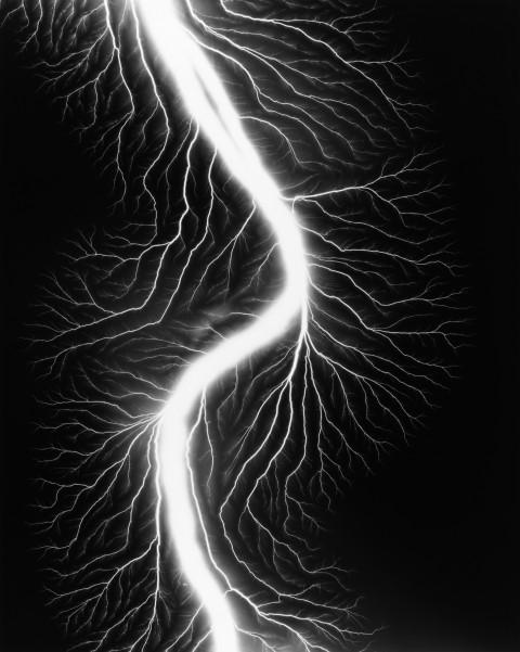 Hiroshi Sugimoto, Lightning Fields 225, 2009 - courtesy l'artista
