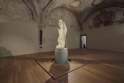 La Pietà Rondanini di Michelangelo nel nuovo allestimento di Michele De Lucchi - photo Roberto Mascaroni