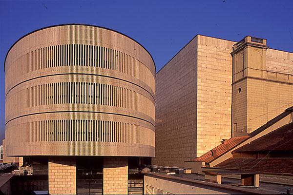 L'ampliamento de La Scala realizzato da Mario Botta