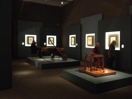 Leonardo 1452-1519 - veduta della mostra presso Palazzo Reale, Milano 2015