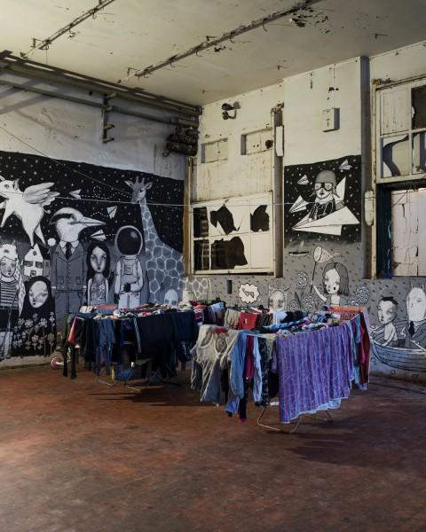 MAAM - Il nucleo abitativo dei rom - photo Giuliano Ottaviani