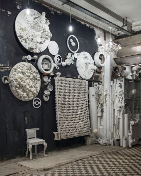 MAAM - Stanza della cattedrale. L'installazione site specific di Veronica Montanino, Momirabilia - photo Giuliano Ottaviani
