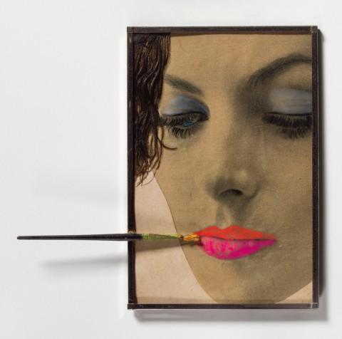 Martial Raysse, Make up, 1962 - coll. privata - photo © Matteo De Fina