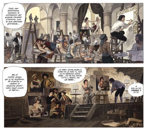 Milo Manara, Caravaggio. La tavolozza e la spada, 2015, Panini Comics.