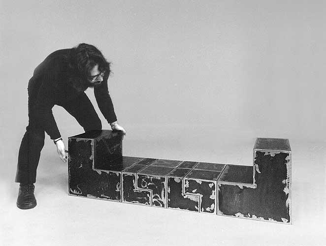 Nicola Carrino, Costruttivo 74 – Modulo L, 1974