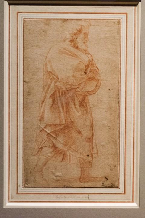 Raffaello – Madonna del Divino Amore - veduta della mostra alla Pinacoteca Agnelli, Torino 2015 - photo Andrea Guermani