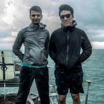 Shabbir Hussain Mustafa e Charles Lim - photo Zephaniah Tan