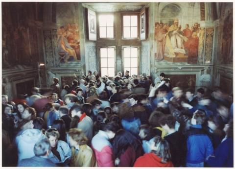 Thomas Struth, Stanze di Raffaello II, Roma 1990, 1990-93 - Museo Cantonale d'Arte, Lugano