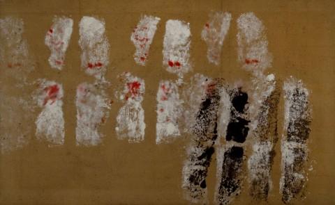 Toti Scialoja, Doppie impronte, 1959 - Courtesy Fondazione Toti Scialoja, Roma - photo Sario Manicone, Roma