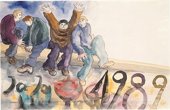 Günter Grass, acquerelli, disegni e sculture nella Collezione Wurth