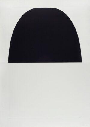 Alberto Burri, Bianchi e neri, 1971 - Litografia e calcografia su carta, cm 91x61