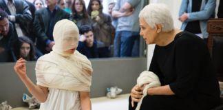 Anna Maria Maiolino – Cioè - veduta della mostra presso la Galleria Raffaella Cortese, Milano 2015 - photo © Lorenzo Palmieri
