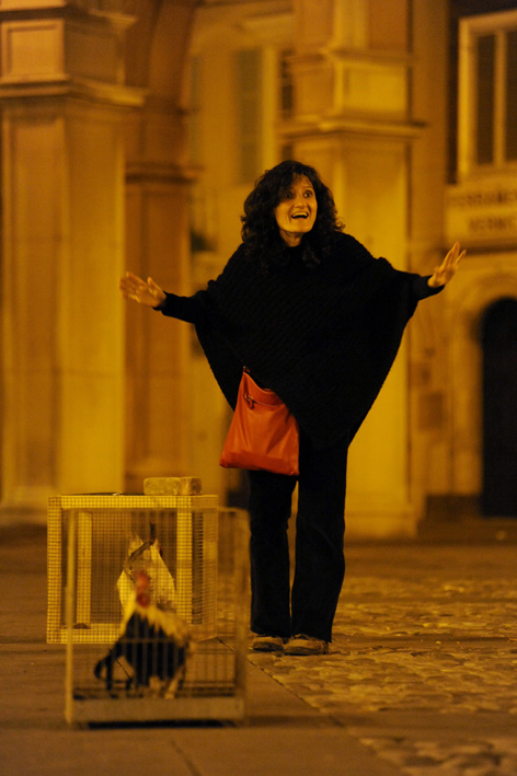Chiara Guidi © photo Laura Arlotti (archivio Santarcangelo dei Teatri)