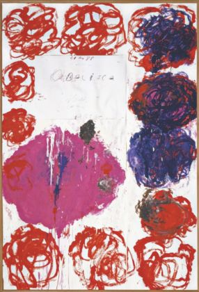Cy Twombly, Untitled (Odalisca), 1988 - Cy Twombly Foundation