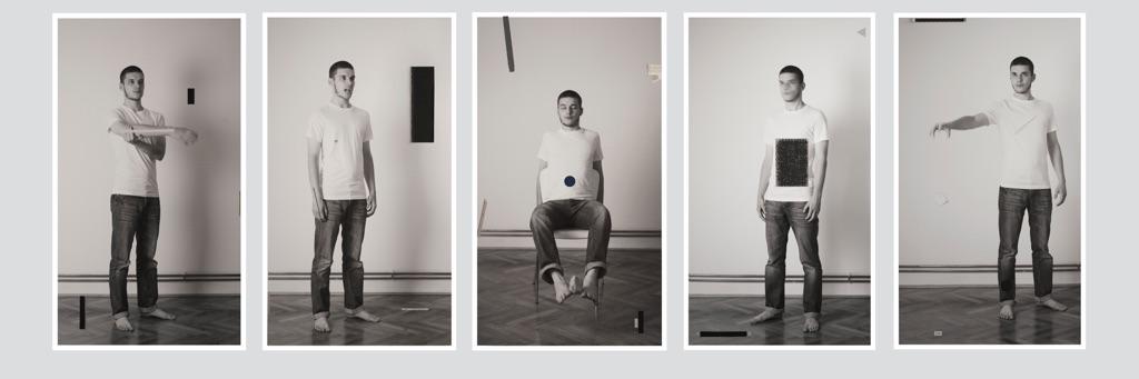 Damir Ocko, Study on Shivering no.3-5, 2013 - Courtesy l'artista e Galleria Tiziana Di Caro