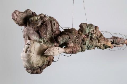 Enrico David, Gradazioni di un Lento Rilascio, 2015 - photo Richard Ivey - courtesy Michael Werner Gallery, New York-London e Collezione Maramotti, Reggio Emilia