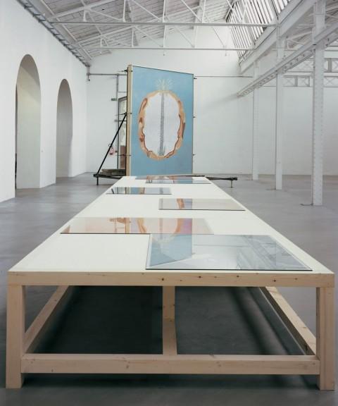Giuseppe Caccavale, Tavolo da disegno, Museo MAXXI, Roma, 2002-03