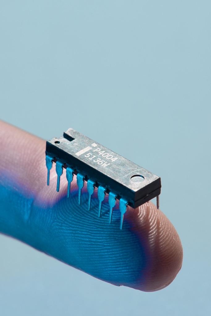 Intel 4004 - photo Mattia Balsamini